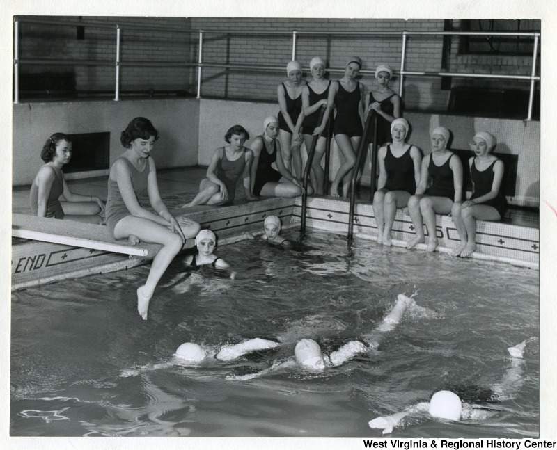 Swimming Class at Elizabeth Moore Hall, West Virginia University