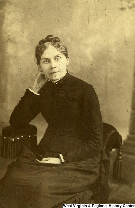 Elizabeth Moore, Morgantown, WV, circa 1875