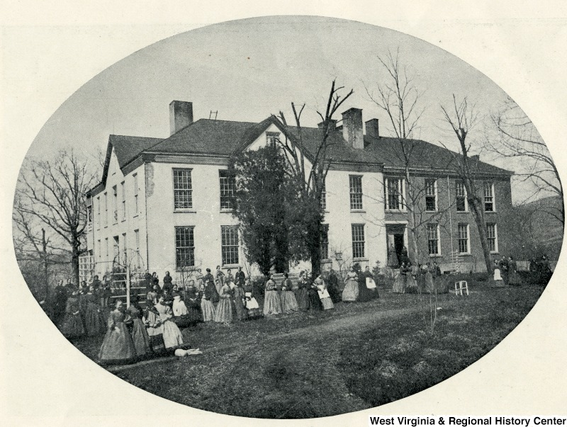 Woodburn Seminary, Morgantown, WV, 1865