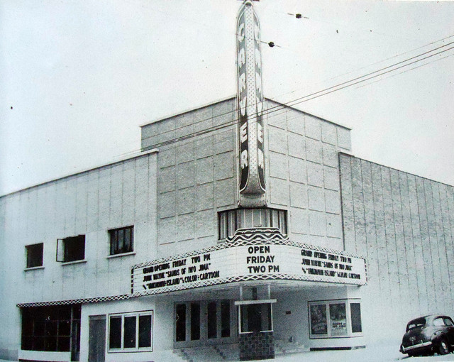 The theater soon after it opened