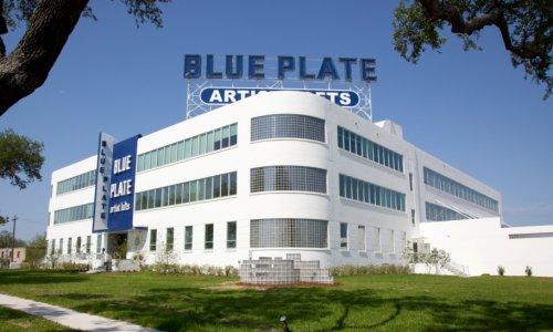 The Blue Plate building as it looks today