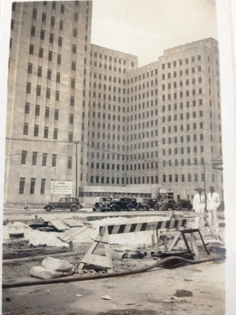 Charity Hospital, 1939: This was the sixth and final building housing the hospital since its colonial origins. It remained in use until the levee failures following Hurricane Katrina. Courtesy of Louisiana Division/City Archives, New Orleans Public Librar