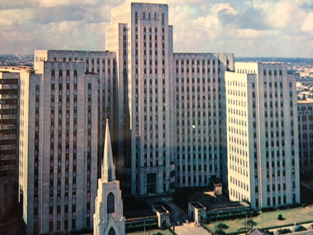 Charity Hospital: The world's second largest hospital when it opened in 1939. Courtesy of Louisiana Division/City Archives, New Orleans Public Library