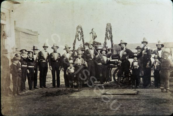 One of San Jose's original three fire companies (image from Sourisseau Academy)