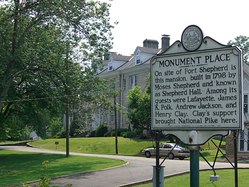 Historical Plaque of Monument Place