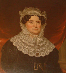 1832 Portrait of Lydia Boggs Shepherd by James Reid Lambdin.