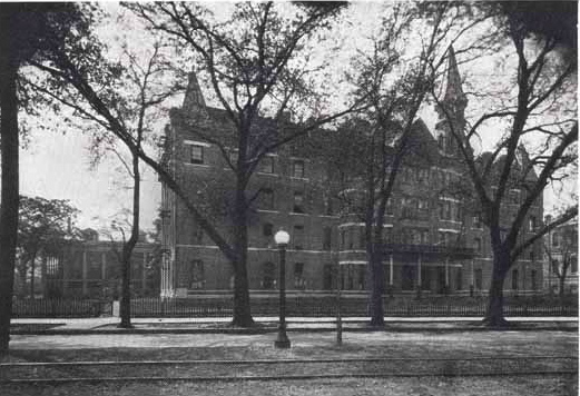 Circa 1920s photo of New Orleans College