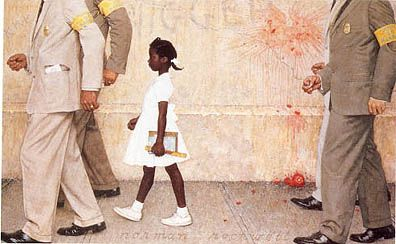 Norman Rockwell's The Problem We Face