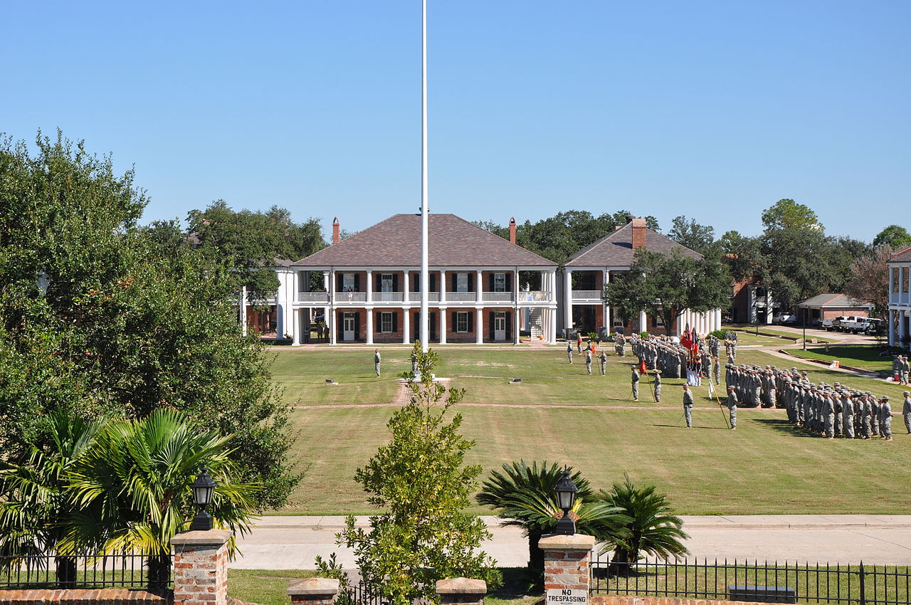 Jackson Barracks as of 2011