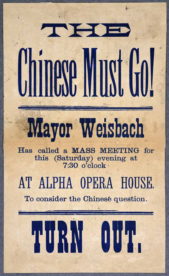The Chinese Must Go! Poster