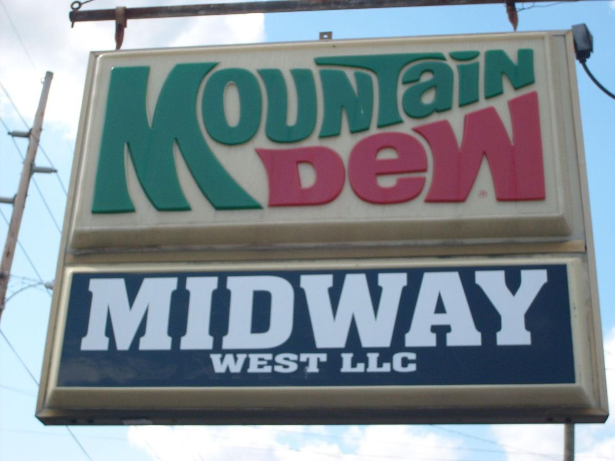Midway Drive-In sign