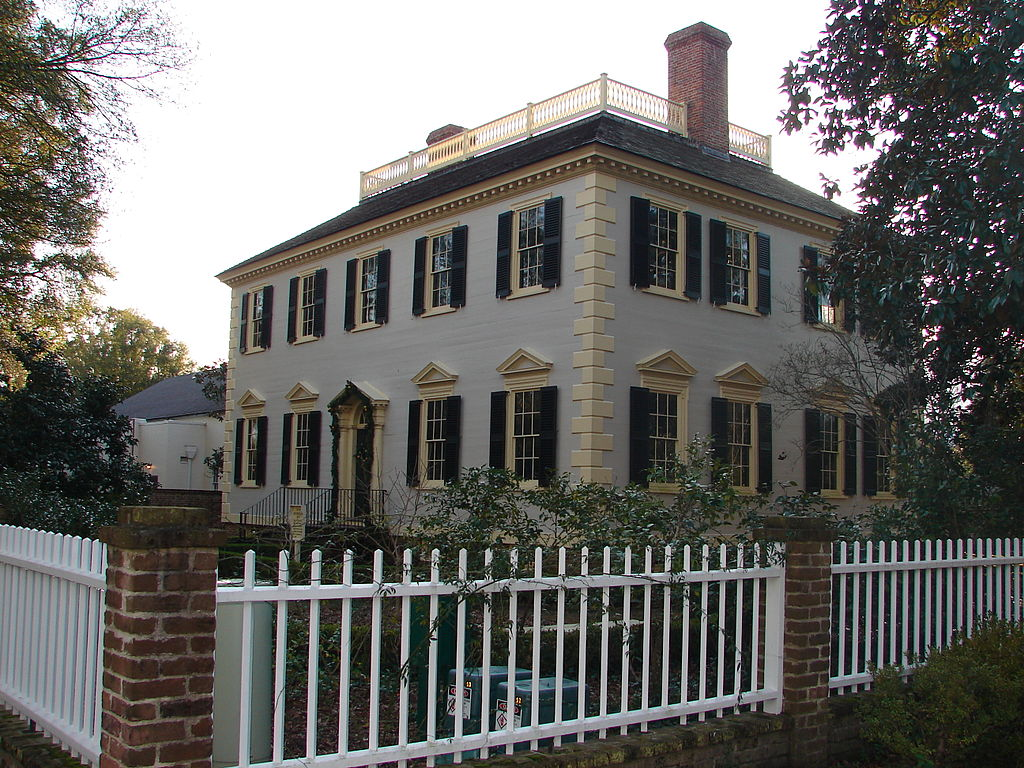 John Wright Stanly House in New Bern is part of the Tyron Place historic complex. Visitors can tour this and several other historic buildings in the neighborhood.