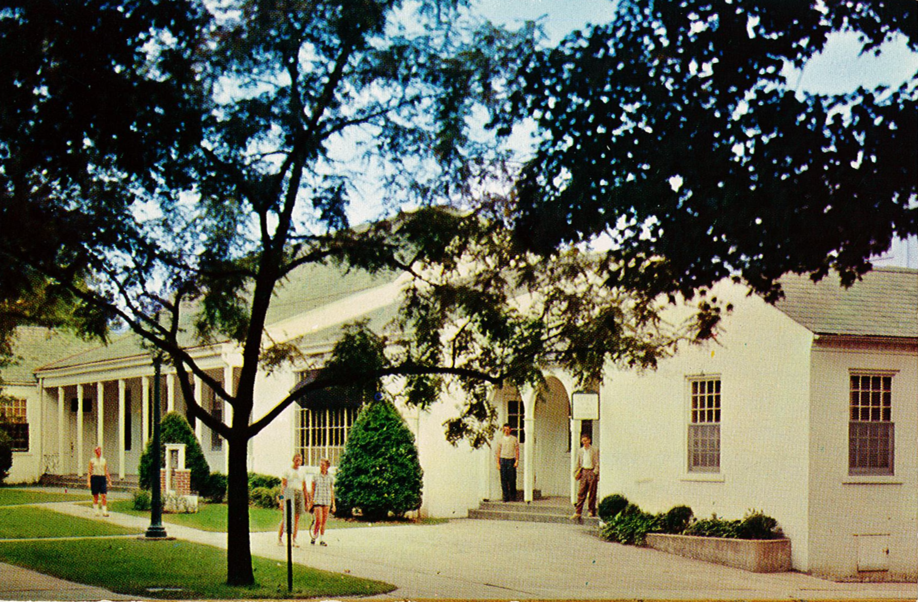 The Shawkey Student Union, located just northwest of the site of the MSC, was the center of student life from 1933 to 1971.