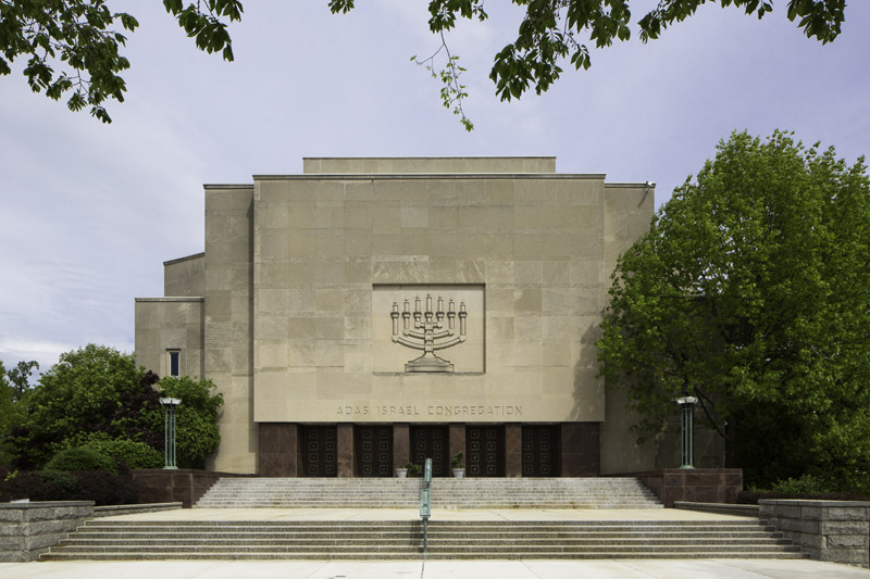 Adas Israel Congregation, founded in 1969, is the largest conservative synagogue in Washington D.C. Photo courtesy of Adas Israel Congregation (reproduced under Fair Use).