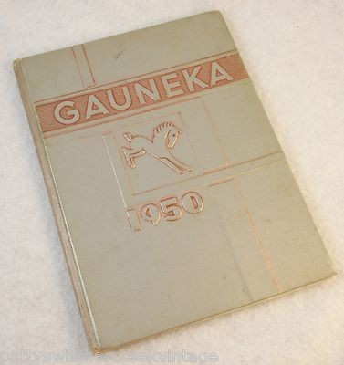 1950 yearbook.  Note the name Gauneka, this refers to 3 local rivers.  The Gauley, the New , and the Kanawha.