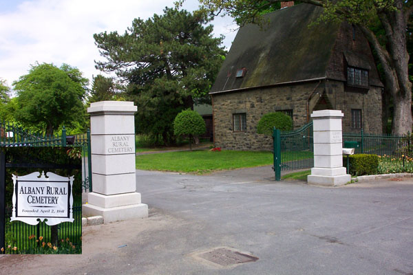 Arc's south entrance along Menands Rd (rt 378).  There is also an entrance on Cemetery Ave.