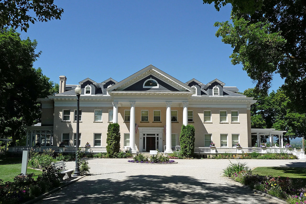 Also known as Riverside, the Daly Mansion was the home of Margaret Daly, the widow or copper magnate Marcus Daly.