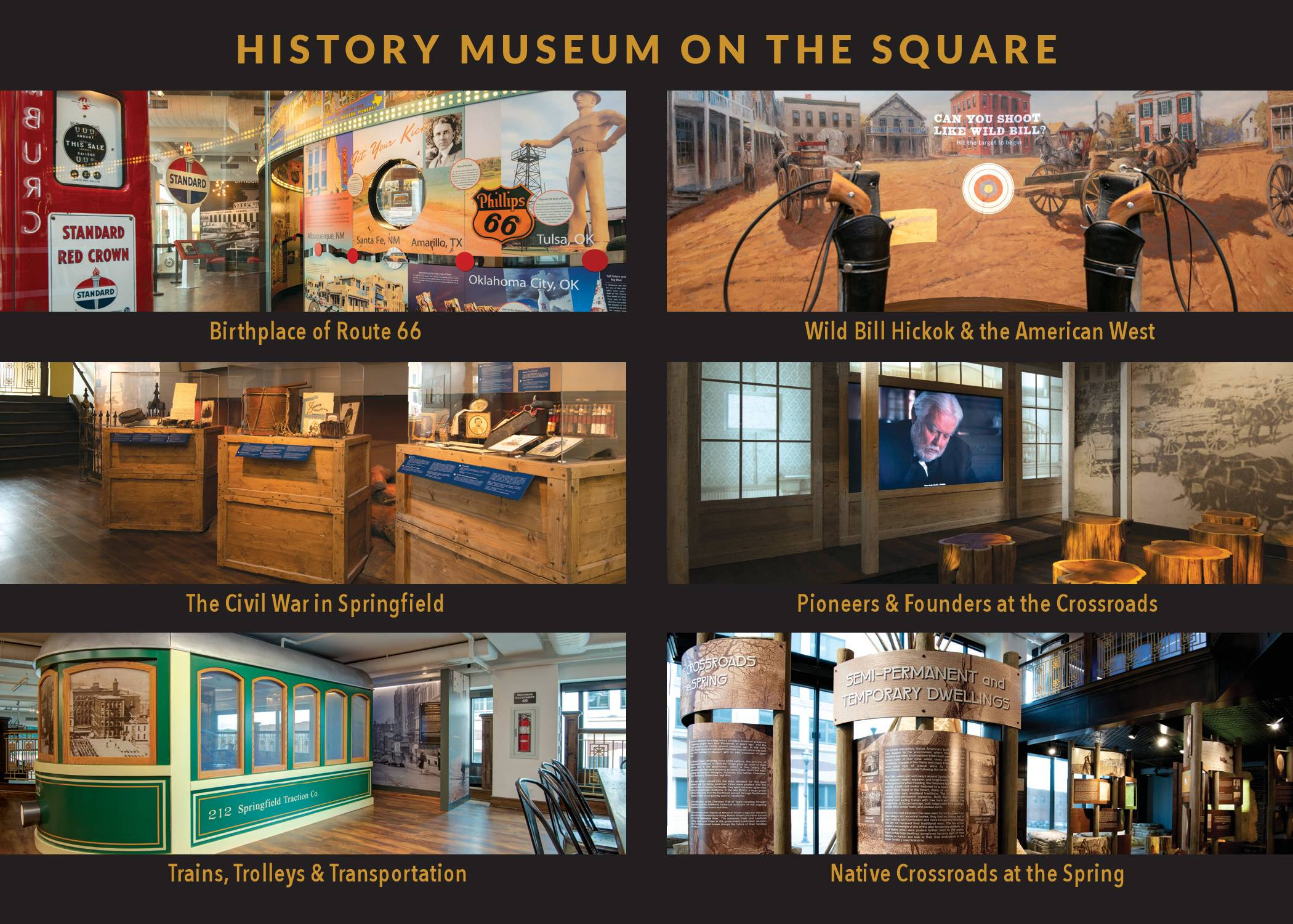 Highlights from each of the galleries at the History Museum on the Square.