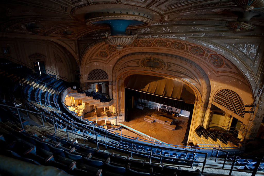 The auditorium as it looks today from balcony view