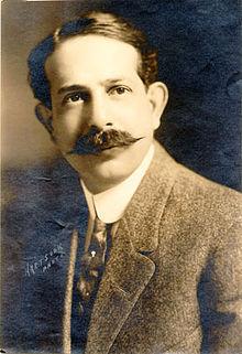 G. Albert Lansburg in 1915. The Orpheum's architect