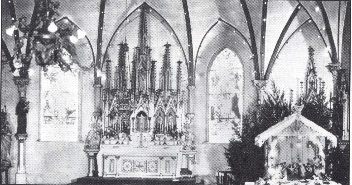 Interior of St. Joseph's Church, date unknown