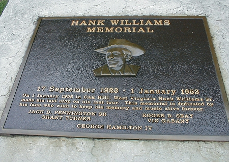 Detail of the plaque itself, dedicated in 1991.