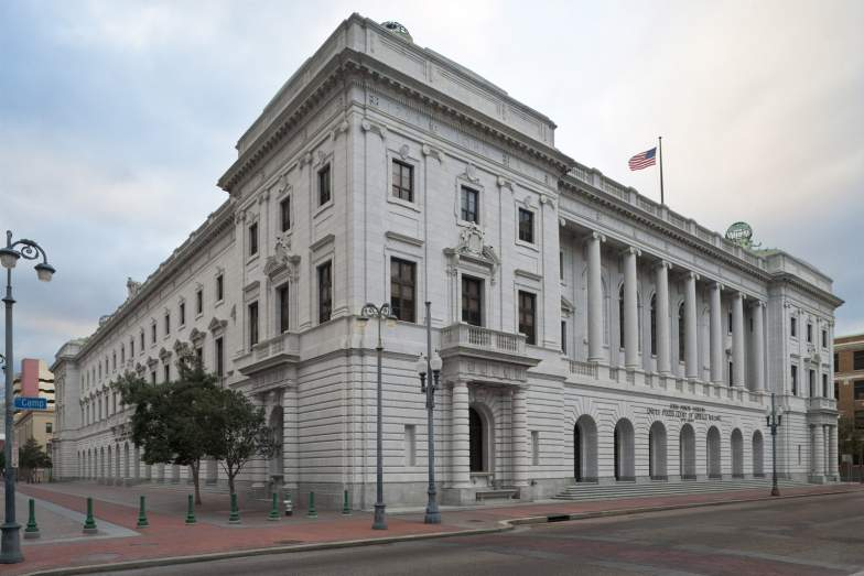 The John Minor Wisdom United States Court of Appeals Building as it looks today