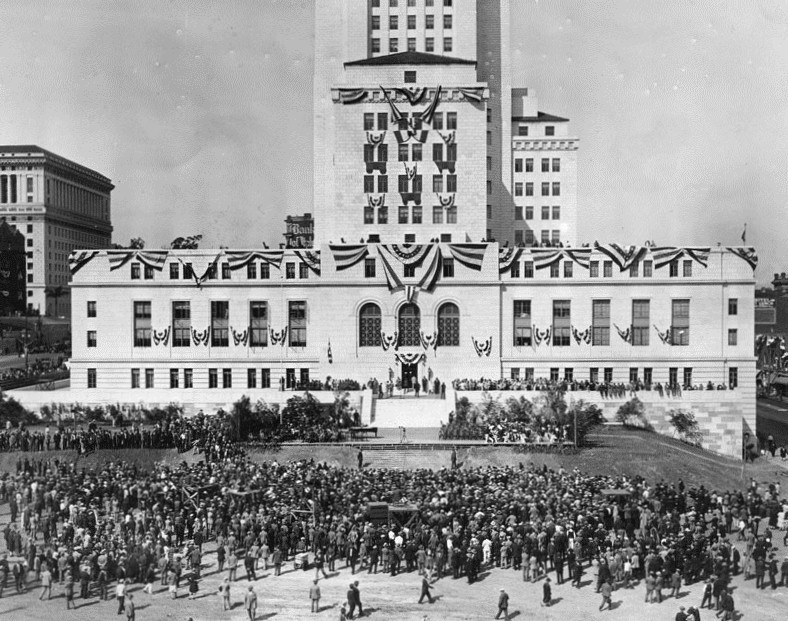 The Daytime Dedication of the City Hall, 1928