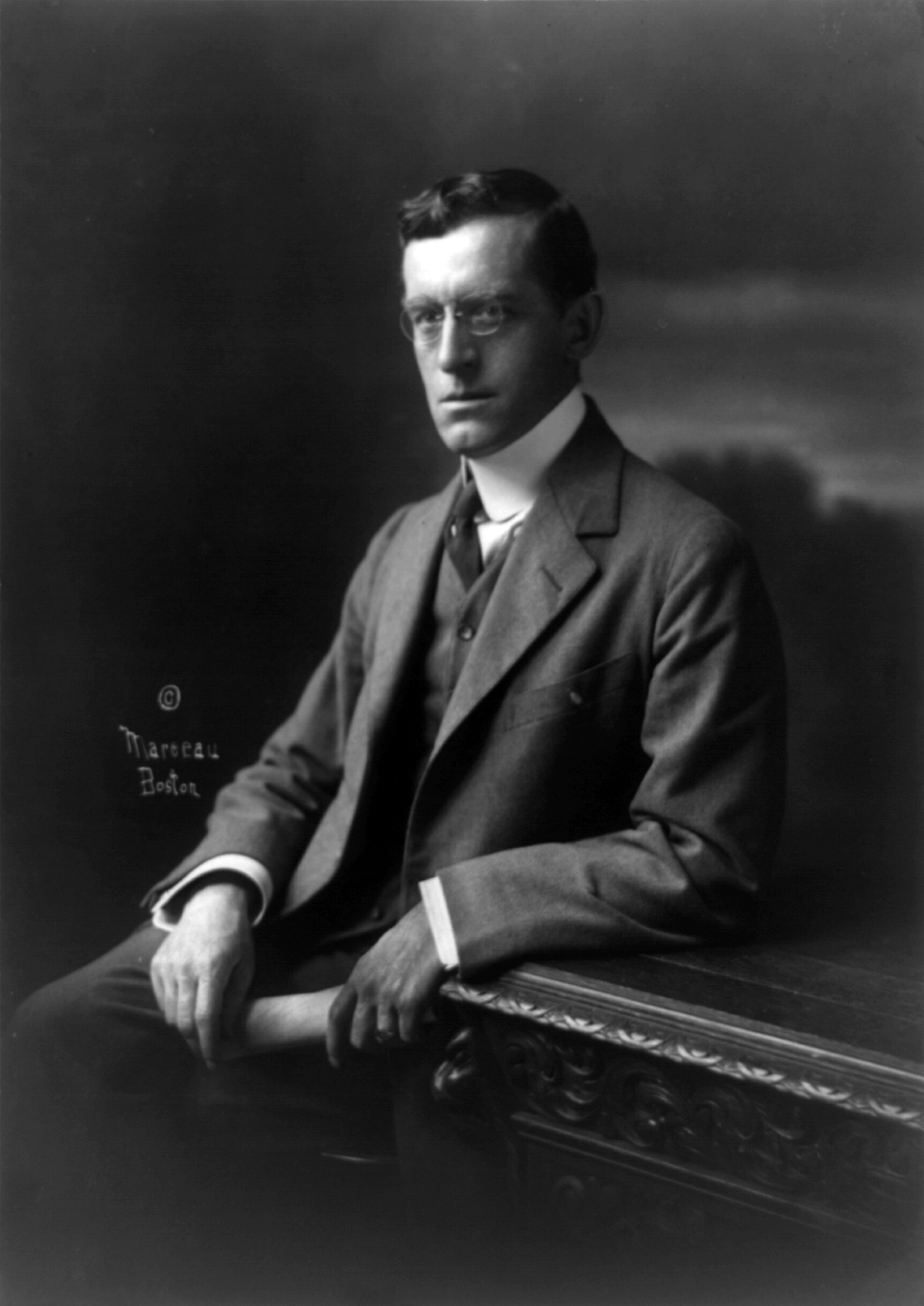 (1911) Ralph Adams Cram, noted American Architect