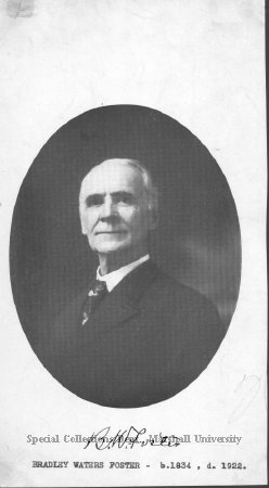 Bradley Waters Foster, 1920