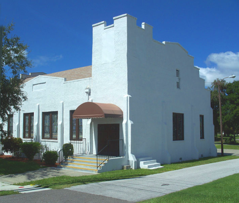 Exterior of Mount Olive African Methodist Episcopal Church
