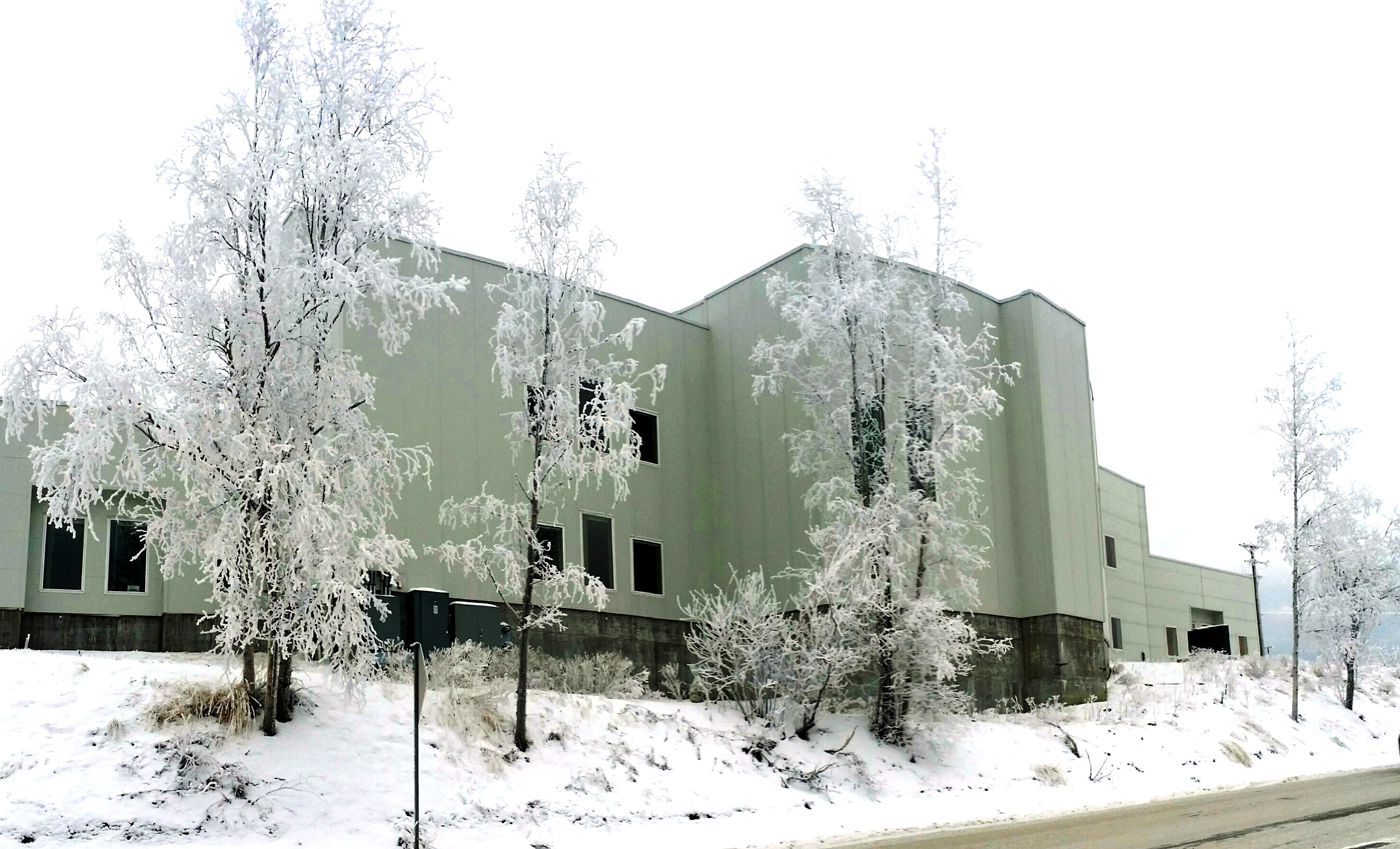 The Islamic Community Center of Anchorage Alaska is the first mosque to be built in the state.