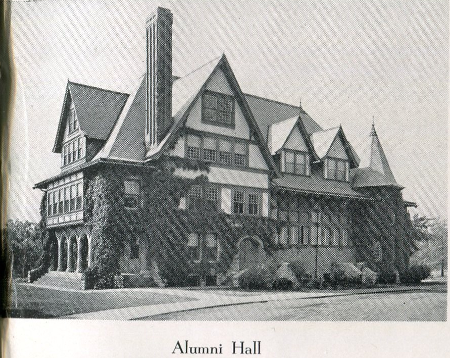 The original Alumni Hall