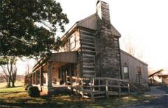 An exterior view of the Buchanan House