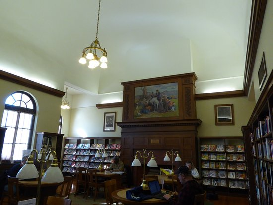 One of the Handley Library's Reading Rooms