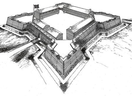 Sketch of Fort Loudoun