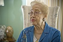 Katherine Johnson in 2008. Credit: Wikipedia