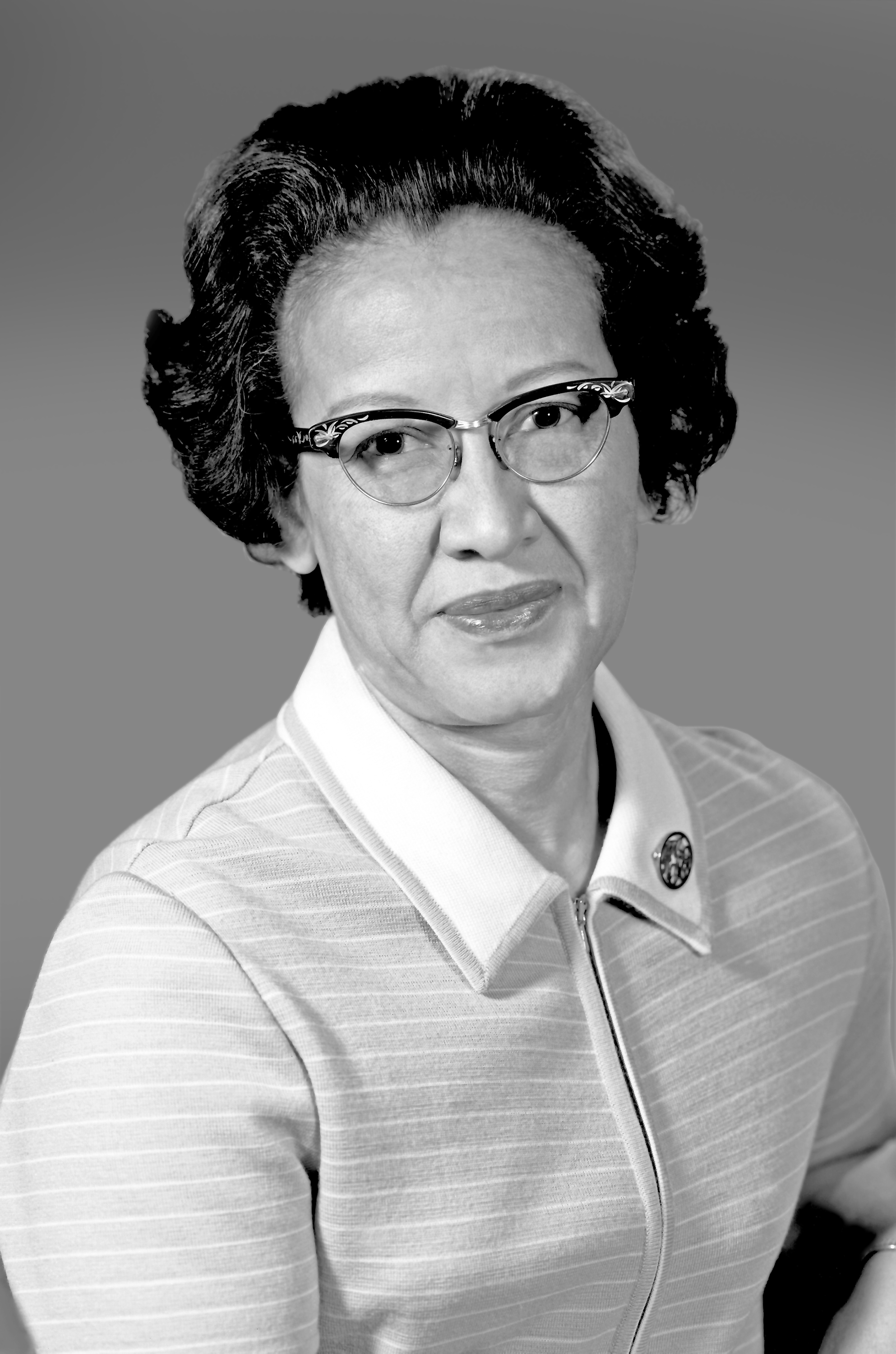 Katherine Johnson while working for NASA. Credit: NASA