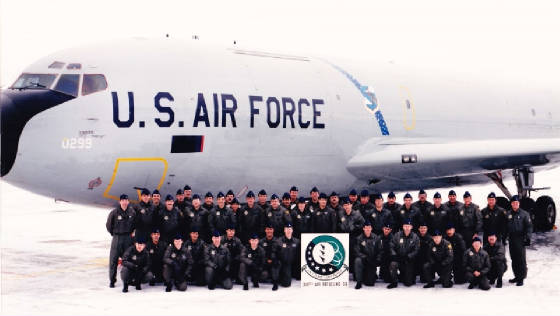 46th Air fueling squadron stationed at K.I. Sawyer Air Force Base.