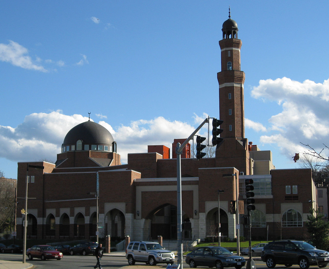 The Islamic Society of Boston Cultural Center in Roxbury opened in 2009.