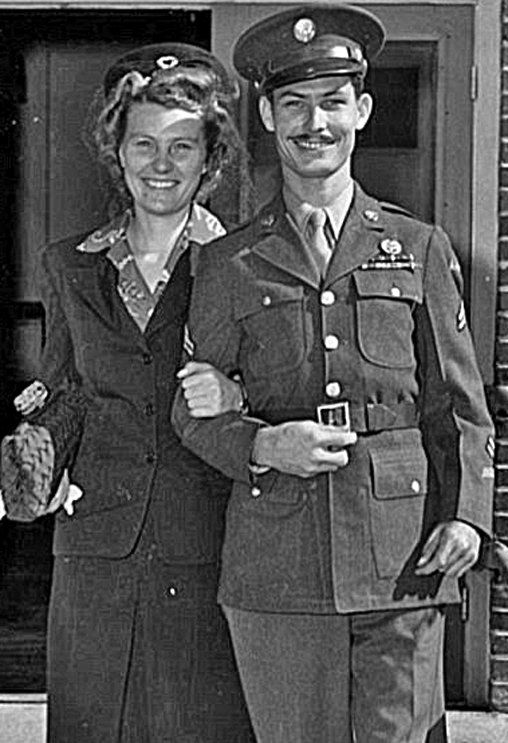 Photo of Desmond Doss and wife, Dorothy Doss