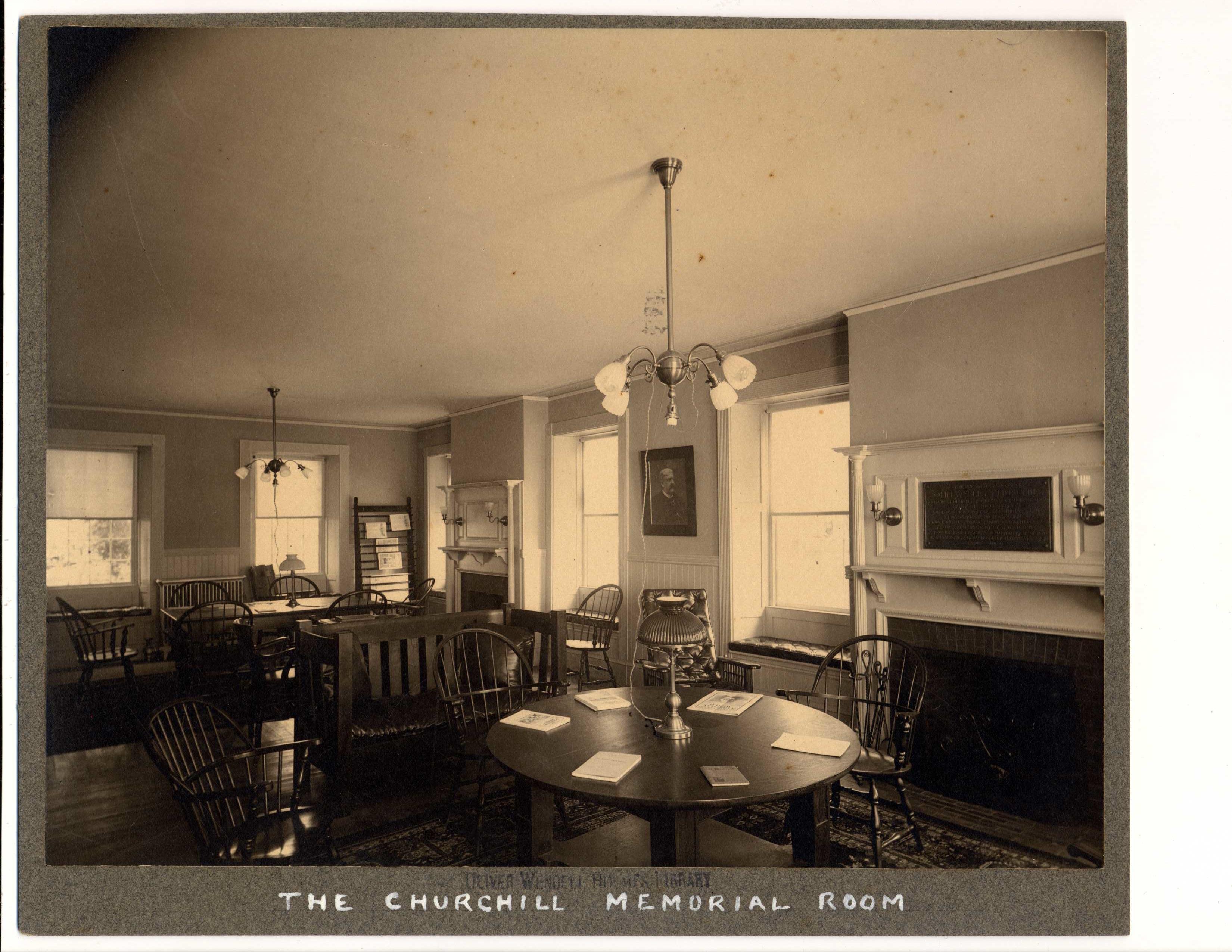 Foxcroft Hall interior