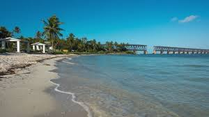 View of one of the beaches at Bahia Honda.