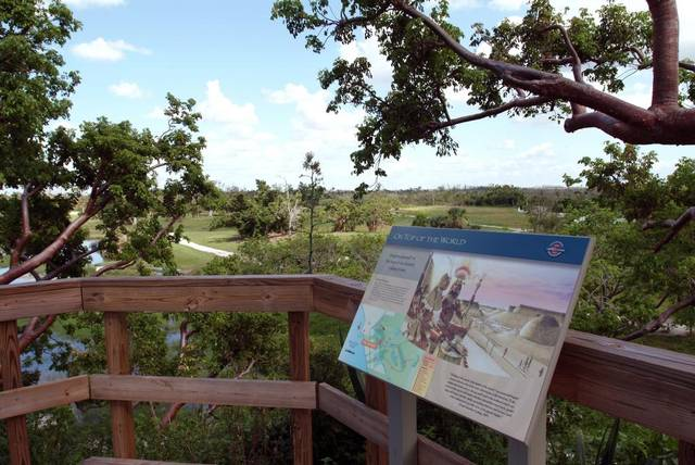 Visitors will be able to take self guided tours through the Calusa Heritage Trail.