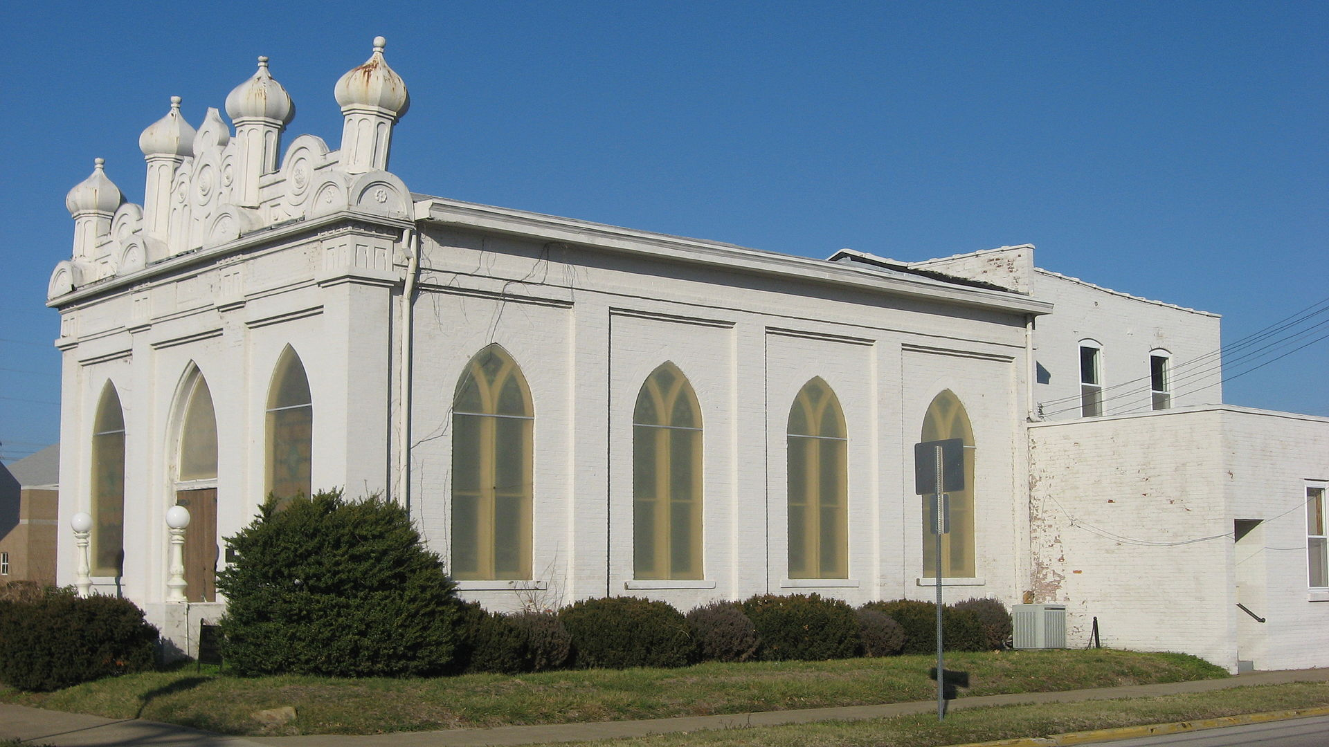 Temple Adath Israel was founded in 1858. The temple was built in 1878.