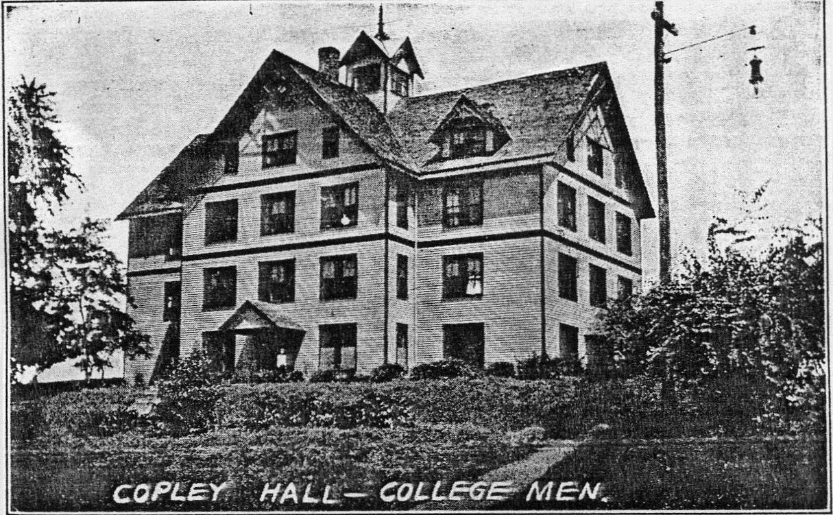 The original Copley dormitory