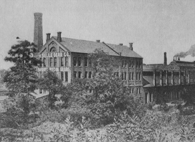 The Selle Building in 1900