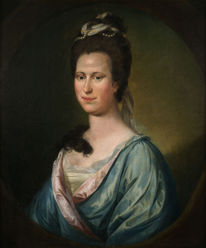 Portait of Mary Willing Byrd by Matthew Pratt (ca. 1773), State Art Collection, Library of Virginia.