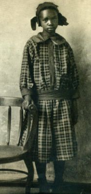 Sarah Rector, about age 12