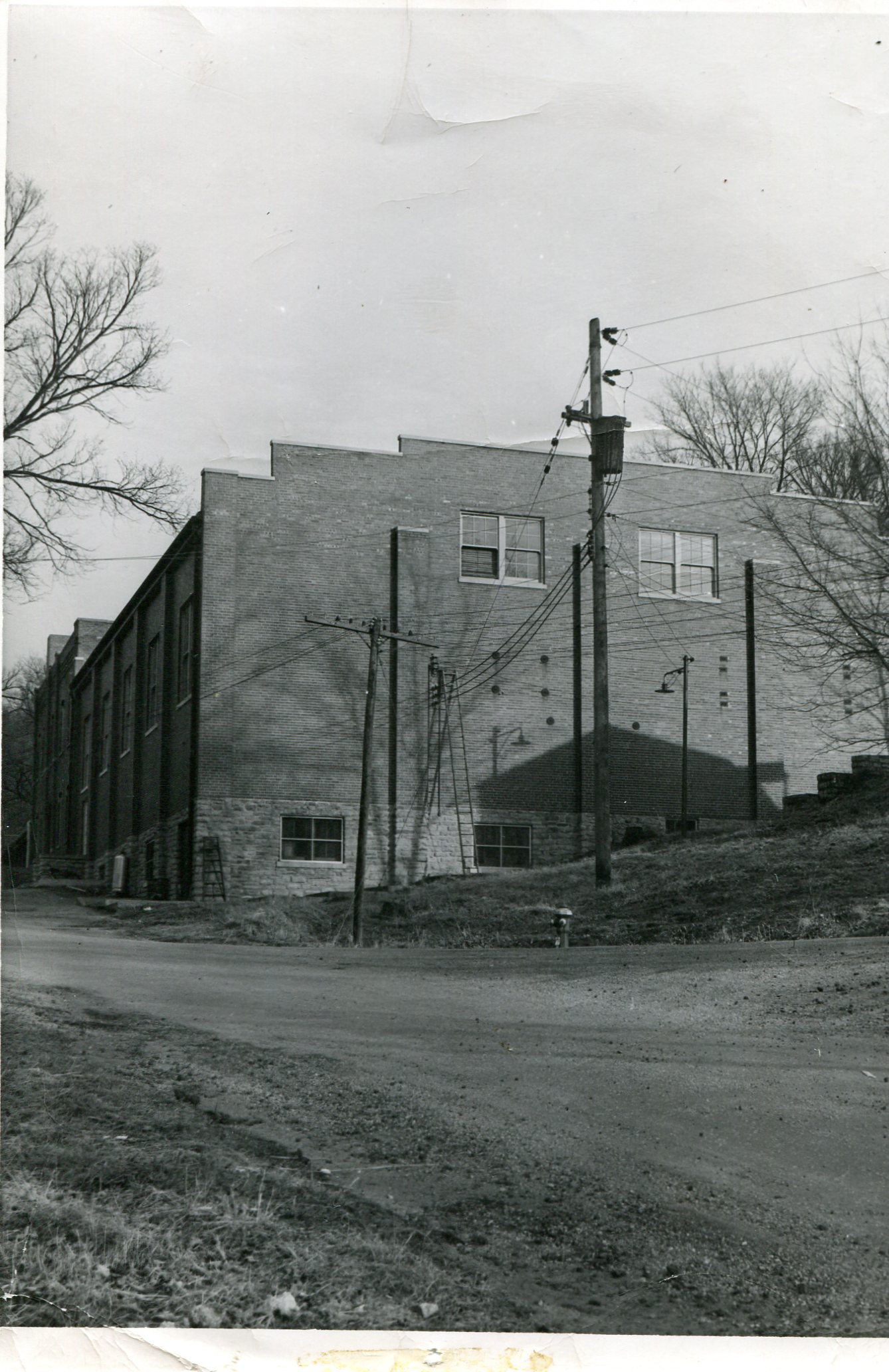 Another view of Labor Hall.